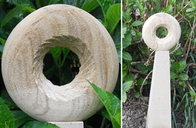 Small sculptures and stonework by David Bedford at Undercliffe Stone